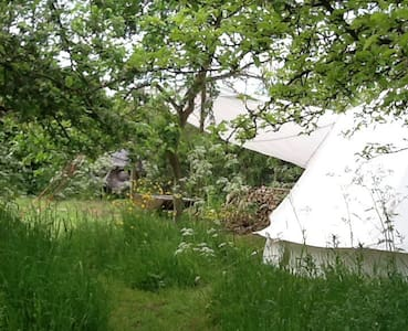 Bell tent for 2 in Yoxford, Suffolk - Yoxford - Tält