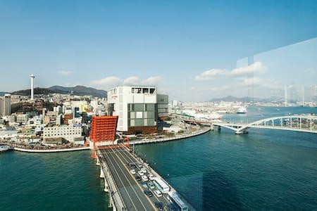 ☆Busan Harbor☆ Triple Private Room☆ - Appartamento