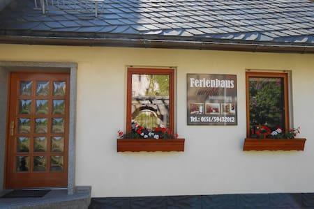 Ferienhaus Burgblick Johanniterburg - Haus