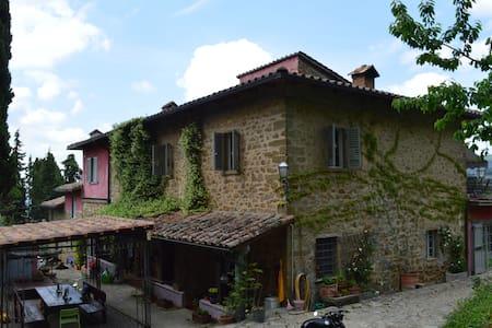 casa mezzomonte Apt Timo - Greve in Chianti - Leilighet