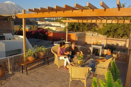 Amazing terrace & views-Arequipa 1R - Arequipa - Talo