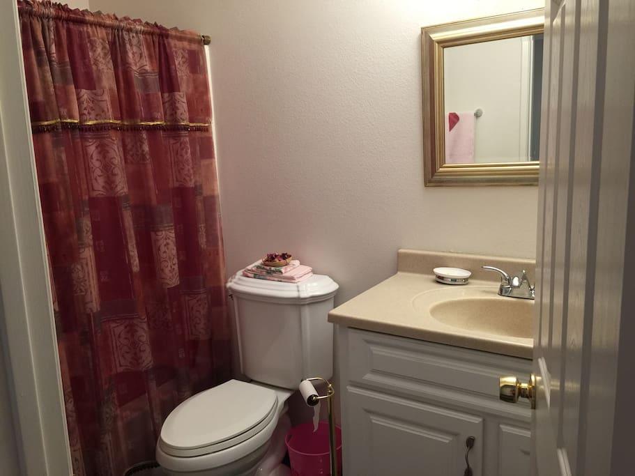 your privet bathroom