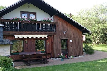 """Ferienhaus """"Panoramablick"""" - Piesau - Talo"""