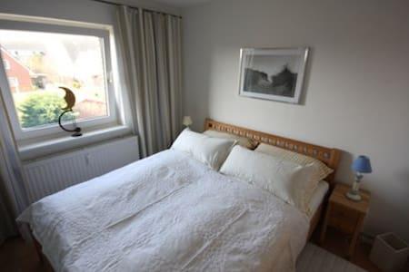 Sonnige Wohnung zum Wohlfühlen - Wittdün - Apartemen