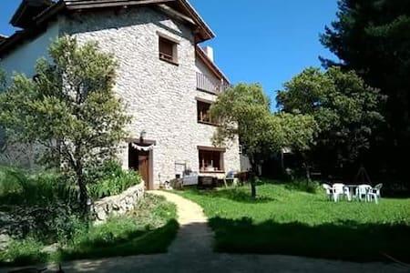 Habitación doble y Yoga en bonita casa en el campo - Guadarrama - Alpstuga