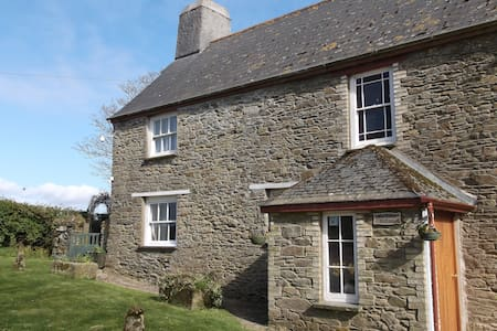 Cosy cottage for 2 on Cornish farm - Casa