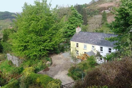 Stunning cottage in forest estate - Pont-rhyd-y-groes - Casa