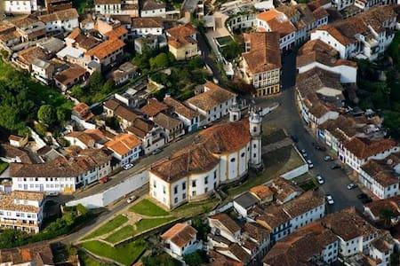 CASA CHARMOSA NO CENTRO HISTÓRICO - Ouro Preto
