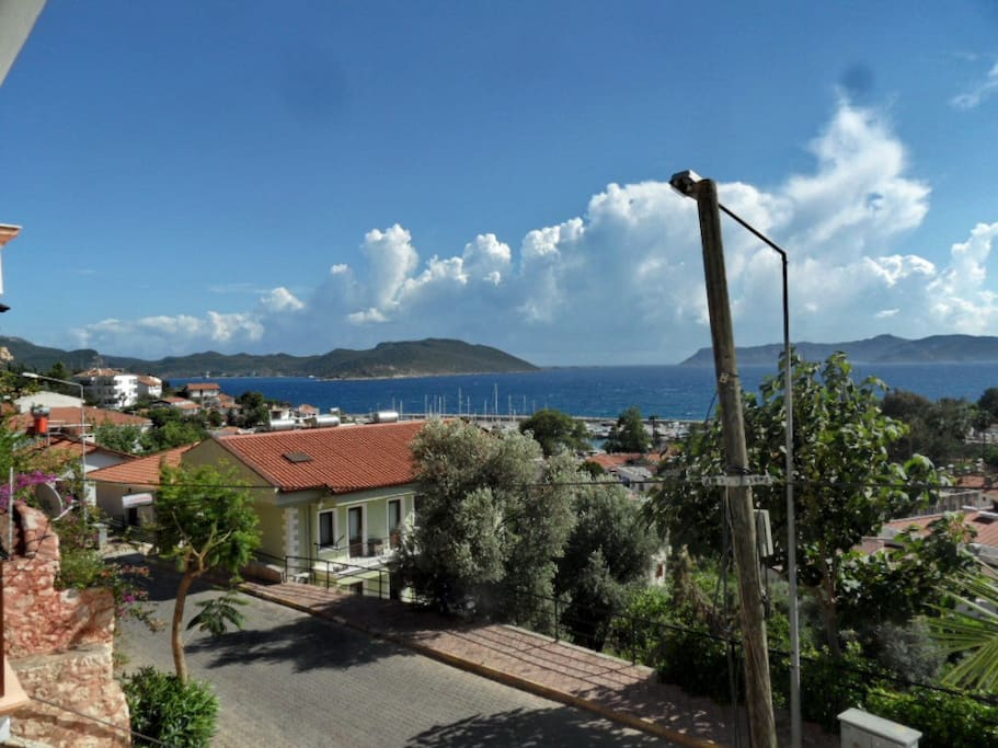 another angle from our balcony