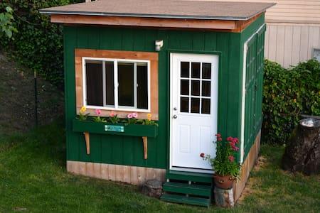 Tiny Garden cabin on Queen Anne