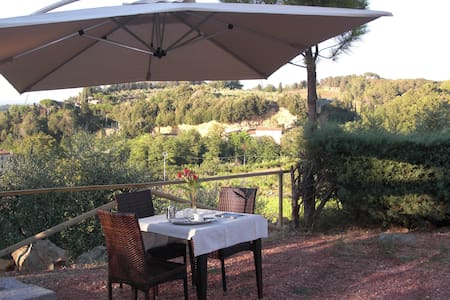 B&B private bathroom garden view - Casciana Terme - Bed & Breakfast