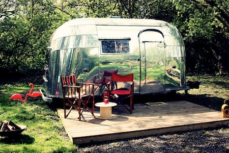 B&B S.Norfolk - 1956 Airstream - Bed & Breakfast