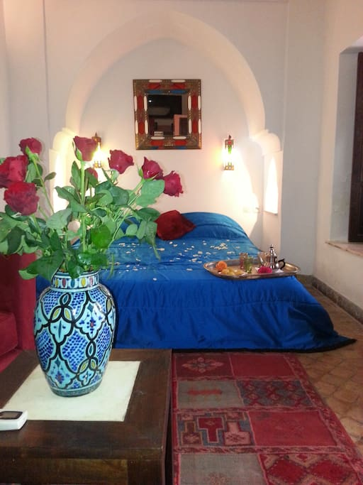 Riad CALISTA Chambre Jacaranda