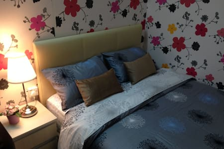 Orchid Room~Near LRT & KL / 2+1 pax - House