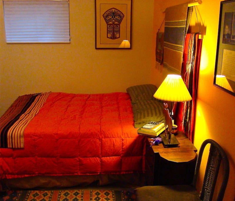Inside guest room