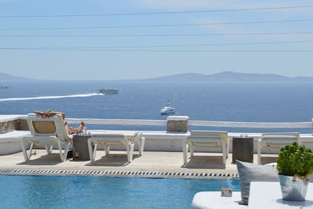 Sea view suite  in Ag.Stefanos-11 - Wohnung