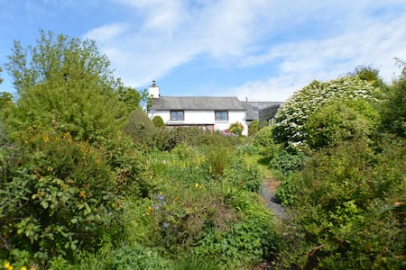 Cosy cottage with stunning views - Commins Coch,  Machynlleth - House