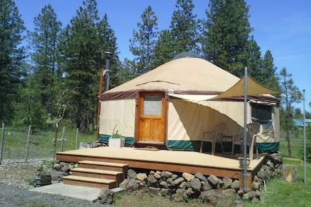 Cozy yurt in a country setting - Trout Lake - Yurt