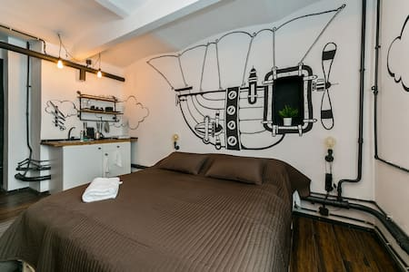 John Jillian's Apartment - Airship - Loft