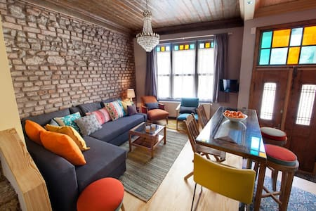 Tangerine House Featured in Maison Francaise - Fatih