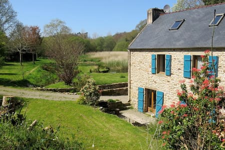 Beautiful gîte close to the sea and Douarnenez - House