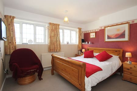 Comfy bright airy double room - Taunton - Bed & Breakfast
