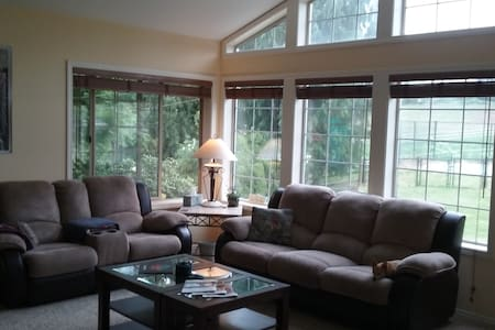 2 Private Rooms - Equestrian Estate - Snohomish - Bed & Breakfast