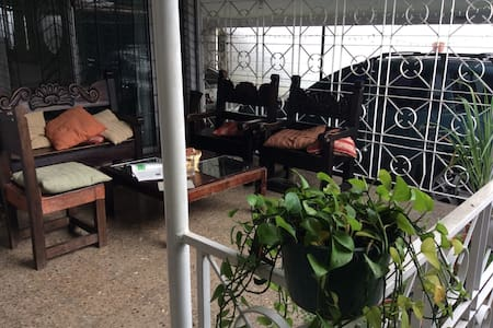 Priv room, beautiful house. Garden+hammock!! - Tegucigalpa - Maison