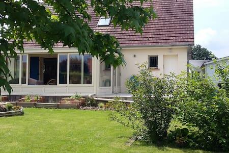 Ville & jardin 1 Chambre double petit-déj. - Hus