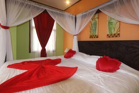 Honey Moon, Jacuzzi & Volcano View - La Fortuna - Bed & Breakfast