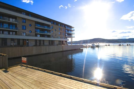 Beachfront Penthouse with seaview, brand new! - Oslo - Lejlighed