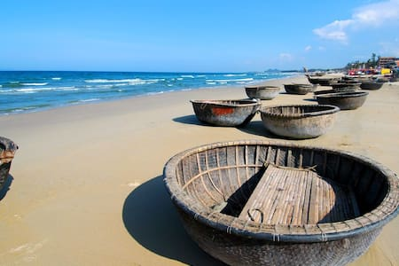KINGSIZE BED|LOCAL AREA|CLOSE THE BEACH|BREAKFAST - Mỹ An - Vendégház