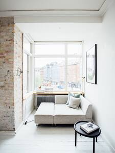 Bright & stylish flat w/balcony - København NV - Apartment