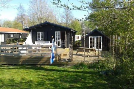 Luxe Cottage aan de Friesche meren - Elahuizen - Cabane