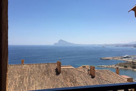 Beautiful apartment overlooking Altea Bay - Apartment