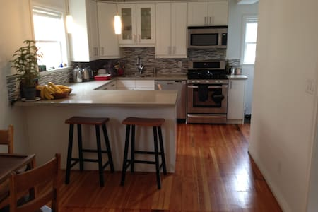 """""""The Haven"""" Clean beautiful top two floors of newly renovated house in artistic neighbourhood blocks from downtown. Wood floors, high ceilings, lots of air and light and space. Quiet, safe, lots of character, easy walk to Gastown, Chinatown, Downtown"""