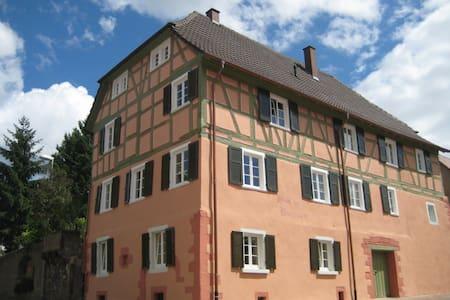 Historisches Haus der Bürgerwehr - Mahlberg - Apartmen