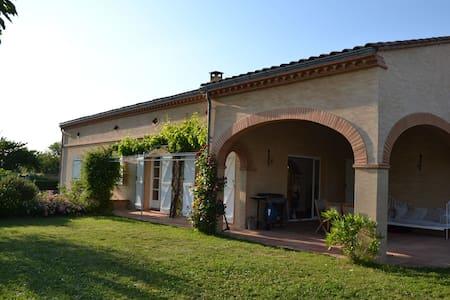 Maison Toulousaine  avec Piscine - Huis
