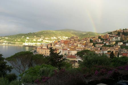 Appartamentino vista mozzafiato ampio terrazzo - Porto Santo Stefano - Appartamento