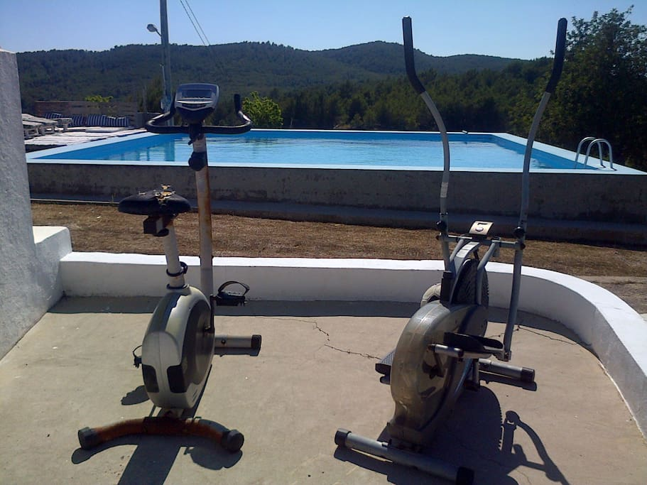 RoomD in Ibiza Country House w/Pool