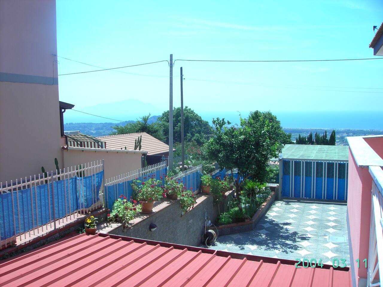 foto con panorama di Ischia