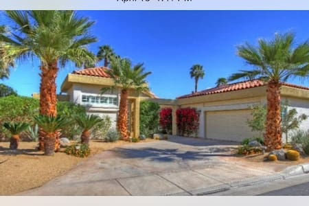 Pool and Spa home in Palm Desert