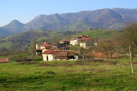 Casona asturiana en 7000mts finca - Arriondas - House