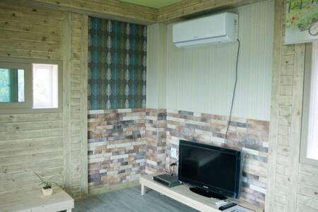 한반도지형의 통나무집 귀여운 커플 객실 - Hanbando-myeon, Yeongweol