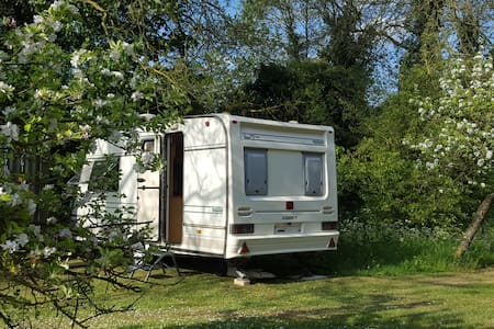 CAMBRIDGE/Babraham/ Duxford/Newmarket/ Stansted - Campingvogn