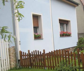Nahe Berlin-Doppelbettzimmer im grünen Ambiente - Apartment