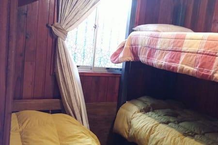 Casa cabaña 2 dor. Para 5 personas - Temuco - Casa
