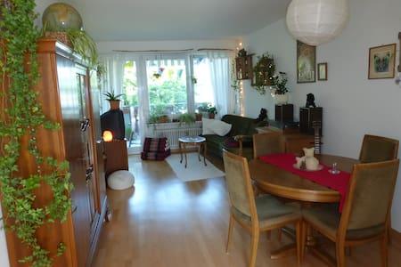 Seeblick-Wohnung mit Katzen - Appartement