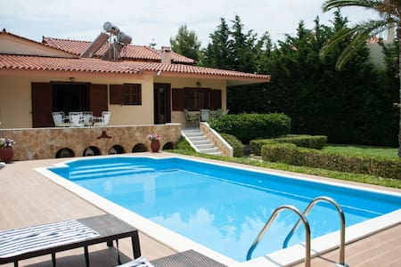 George's luxury Villa Mavro Lithari - Ανάβυσσος - Villa