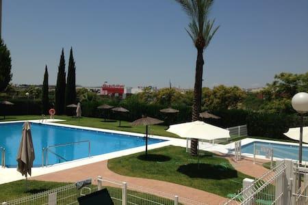 Nice flat, swimming pool, Seville - Flat
